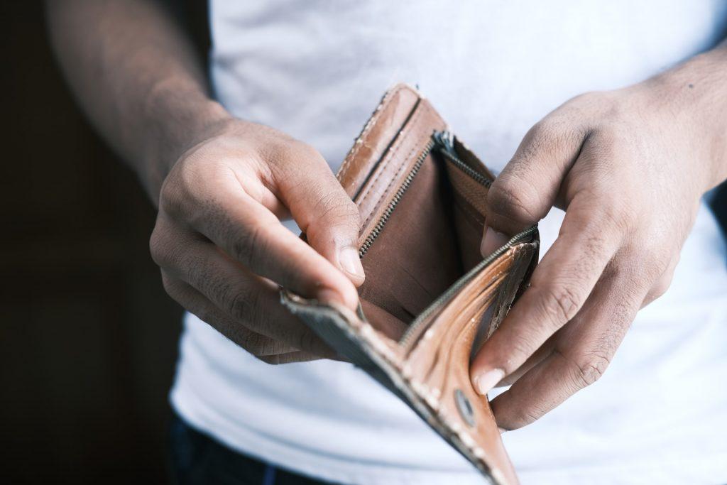 Beleg nooit met geld dat je niet kunt missen